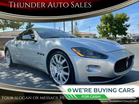 2008 Maserati GranTurismo for sale at Thunder Auto Sales in Sacramento CA