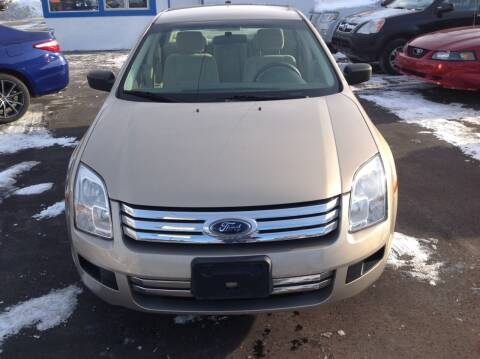 2007 Ford Fusion for sale at Sindic Motors in Waukesha WI