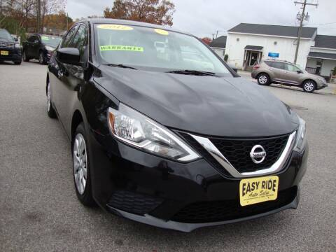 2017 Nissan Sentra for sale at Easy Ride Auto Sales Inc in Chester VA