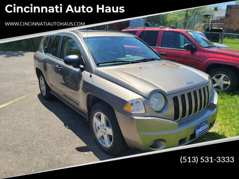 2008 Jeep Compass for sale at Cincinnati Auto Haus in Cincinnati OH