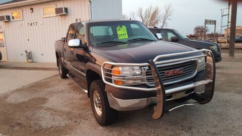 2001 GMC Sierra 2500HD for sale at Northstar Auto Brokers in Fargo ND