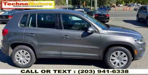 2012 Volkswagen Tiguan for sale at Techno Motors in Danbury CT