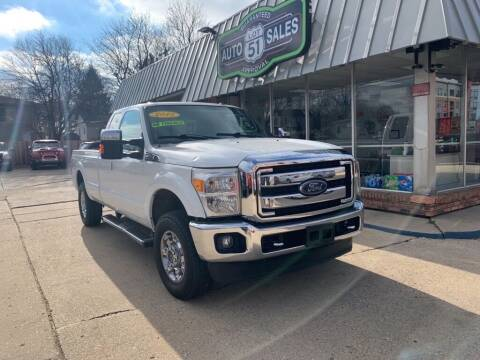 2015 Ford F-250 Super Duty for sale at LOT 51 AUTO SALES in Madison WI