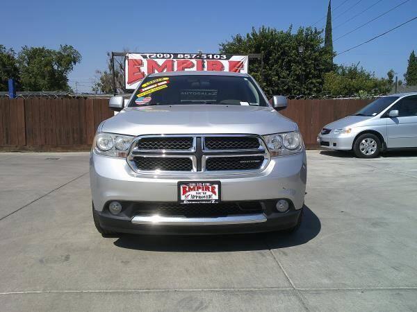 2012 Dodge Durango for sale at Empire Auto Sales in Modesto CA