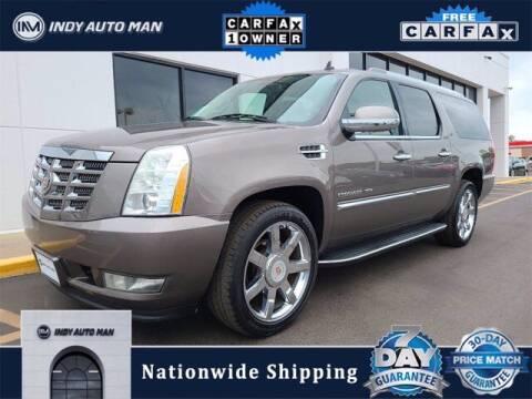 2014 Cadillac Escalade ESV for sale at INDY AUTO MAN in Indianapolis IN