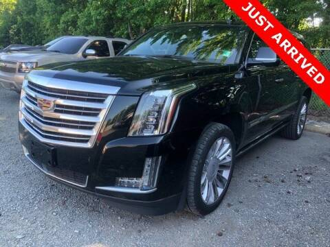 2018 Cadillac Escalade ESV for sale at Brandon Reeves Auto World in Monroe NC