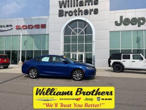2016 Chrysler 200 for sale at Williams Brothers - Pre-Owned Monroe in Monroe MI