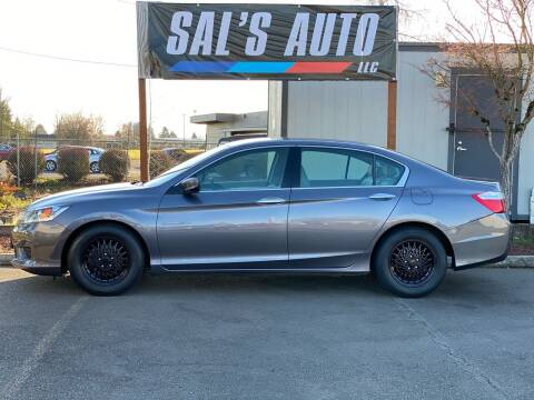 2015 Honda Accord for sale at Sal's Auto in Woodburn OR