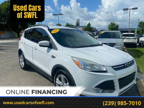2014 Ford Escape for sale at Used Cars of SWFL in Fort Myers FL