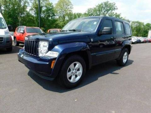 2012 Jeep Liberty for sale at BORGES AUTO CENTER, INC. in Taunton MA