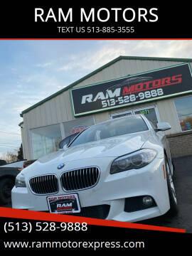 2013 BMW 5 Series for sale at RAM MOTORS in Cincinnati OH