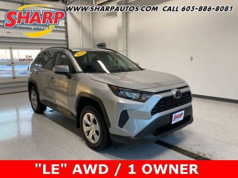 2019 Toyota RAV4 for sale at Sharp Automotive in Watertown SD