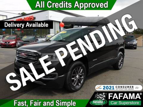 2018 GMC Acadia for sale at FAFAMA AUTO SALES Inc in Milford MA