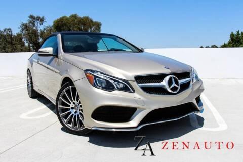 2016 Mercedes-Benz E-Class for sale at Zen Auto Sales in Sacramento CA