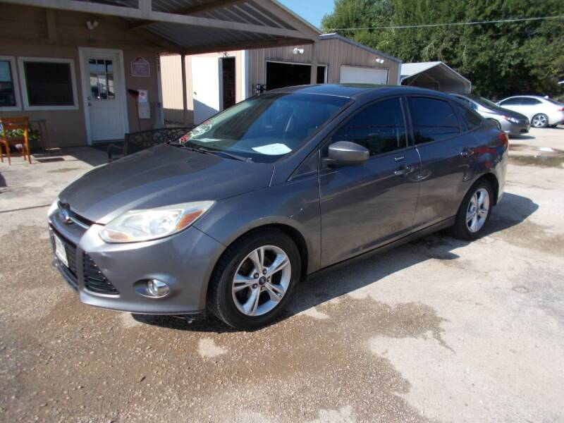 2012 Ford Focus for sale at DISCOUNT AUTOS in Cibolo TX