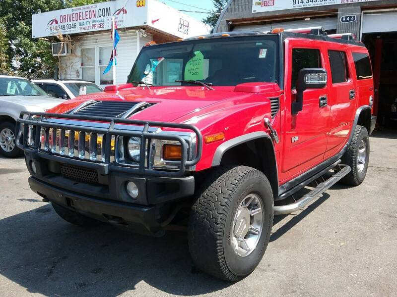 2004 HUMMER H2 for sale at Drive Deleon in Yonkers NY