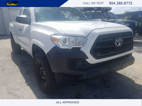2016 Toyota Tacoma for sale at The Autoblock in Fort Lauderdale FL
