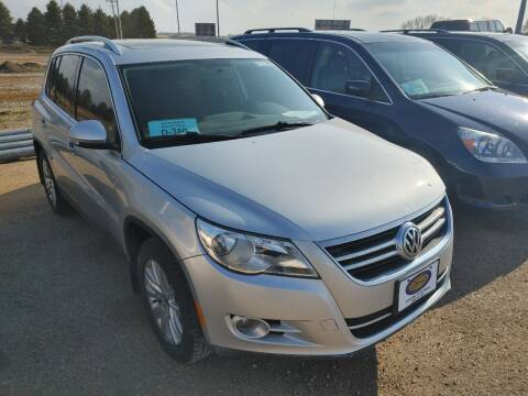2009 Volkswagen Tiguan for sale at BERG AUTO MALL & TRUCKING INC in Beresford SD
