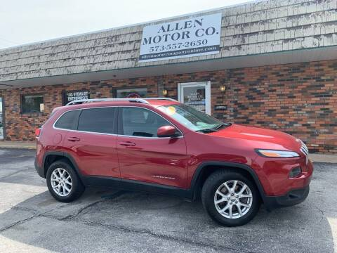 2015 Jeep Cherokee for sale at Allen Motor Company in Eldon MO