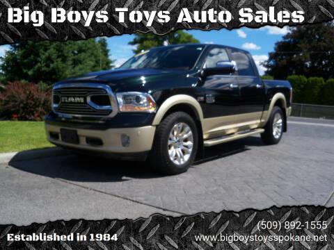 2017 RAM Ram Pickup 1500 for sale at Big Boys Toys Auto Sales in Spokane Valley WA