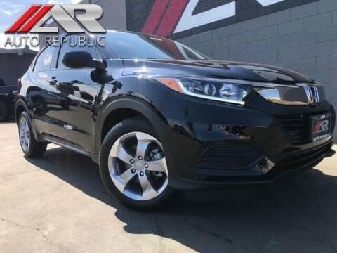 2019 Honda HR-V for sale at Auto Republic Fullerton in Fullerton CA