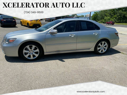 2009 Acura RL for sale at Xcelerator Auto LLC in Indiana PA