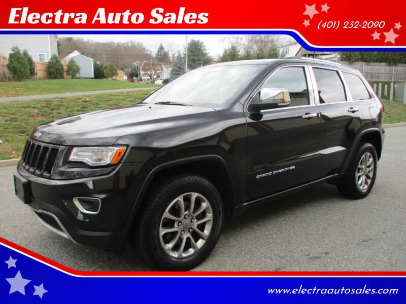 2014 Jeep Grand Cherokee for sale at Electra Auto Sales in Johnston RI