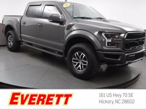 2018 Ford F-150 for sale at Everett Chevrolet Buick GMC in Hickory NC