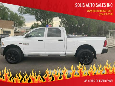 2014 RAM Ram Pickup 3500 for sale at SOLIS AUTO SALES INC in Elko NV