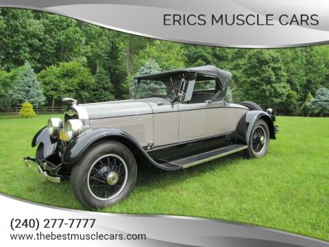 1925 Lincoln Model L for sale at Erics Muscle Cars in Clarksburg MD