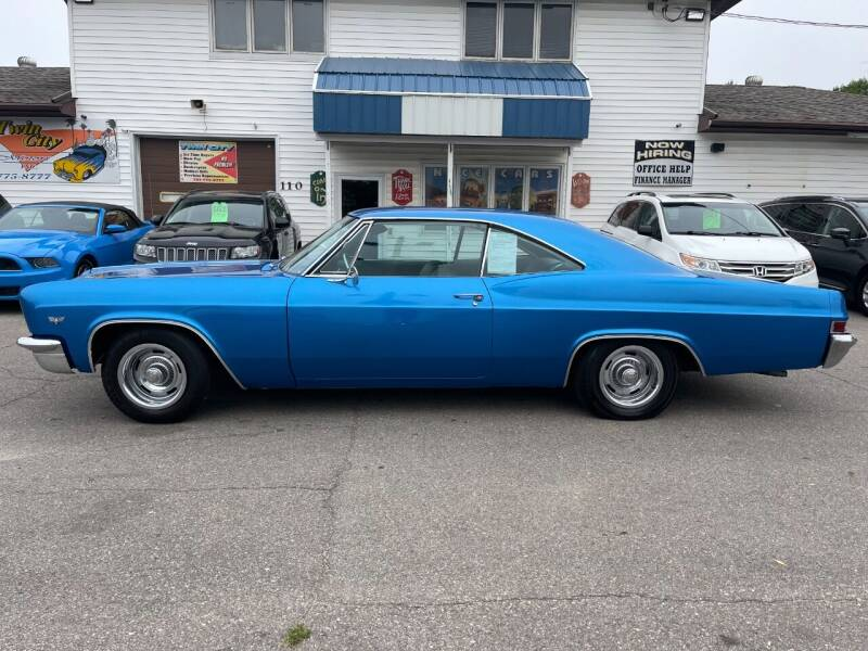 1966 Chevrolet Impala for sale at Twin City Motors in Grand Forks ND