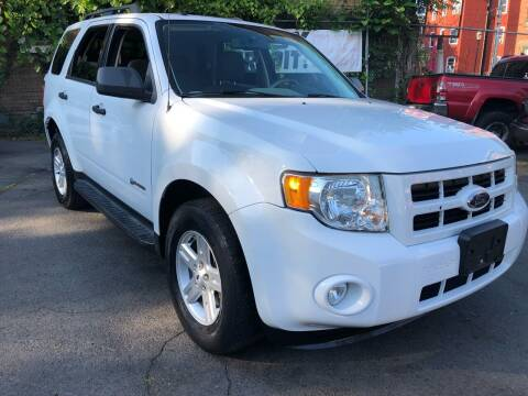 2009 Ford Escape Hybrid for sale at James Motor Cars in Hartford CT