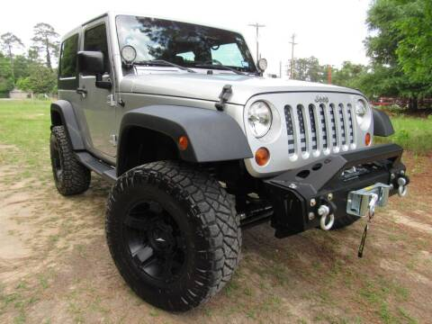 2010 Jeep Wrangler for sale at Park and Sell in Conroe TX
