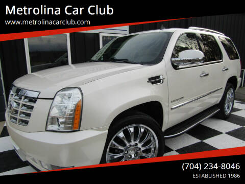 2011 Cadillac Escalade for sale at Metrolina Car Club in Matthews NC