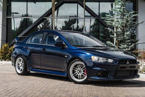 2014 Mitsubishi Lancer Evolution for sale at MUSCLE MOTORS AUTO SALES INC in Reno NV