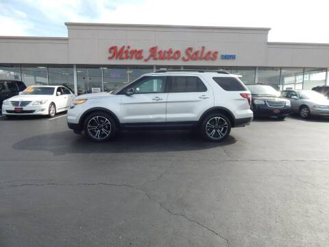 2013 Ford Explorer for sale at Mira Auto Sales in Dayton OH