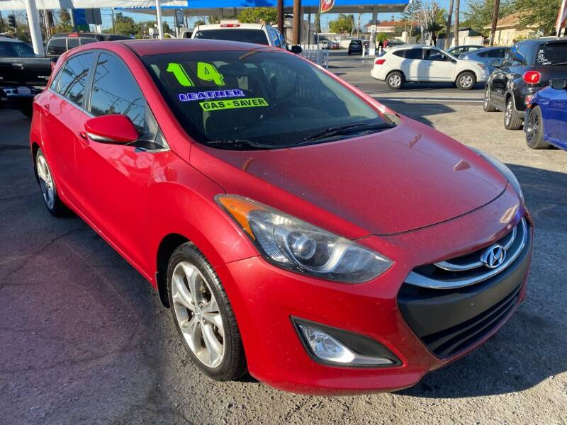 2014 Hyundai Elantra GT for sale at CAR GENERATION CENTER, INC. in Los Angeles CA