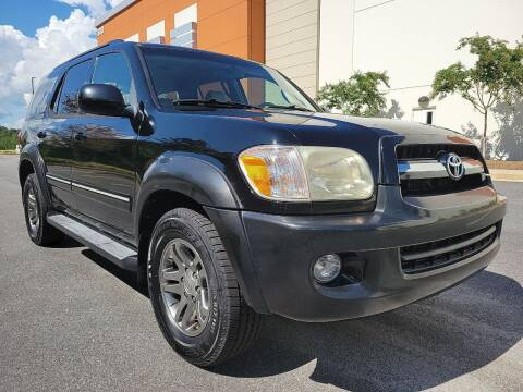 2005 Toyota Sequoia for sale at ELAN AUTOMOTIVE GROUP in Buford GA