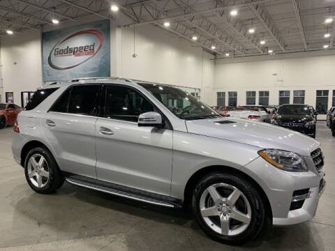2015 Mercedes-Benz M-Class for sale at Godspeed Motors in Charlotte NC