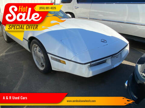 1989 Chevrolet Corvette for sale at A & R Used Cars in Clayton NJ