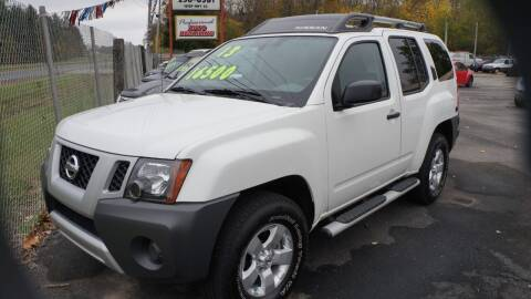2013 Nissan Xterra for sale at G & R Auto Sales in Charlestown IN