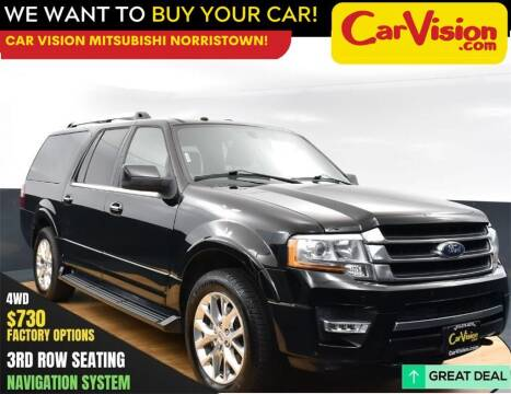 2017 Ford Expedition EL for sale at Car Vision Mitsubishi Norristown in Norristown PA