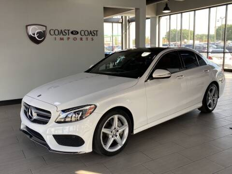 2015 Mercedes-Benz C-Class for sale at Coast to Coast Imports in Fishers IN