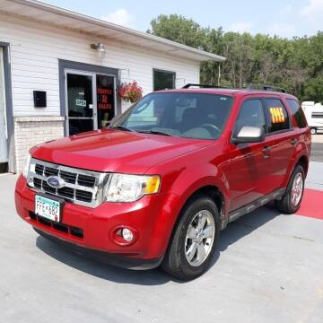 2009 Ford Escape for sale at Triple R Sales in Lake City MN