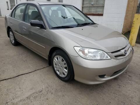 2004 Honda Civic for sale at PARK AUTO SALES in Roselle NJ