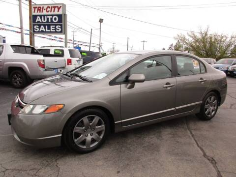 2008 Honda Civic for sale at TRI CITY AUTO SALES LLC in Menasha WI