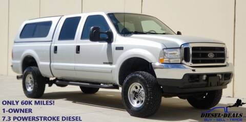 2001 Ford F-250 Super Duty for sale at DIESEL DEALS in Salt Lake City UT