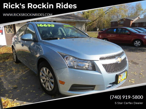 2011 Chevrolet Cruze for sale at Rick's Rockin Rides in Reynoldsburg OH