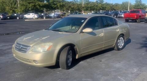2004 Nissan Altima for sale at Cobalt Cars in Atlanta GA
