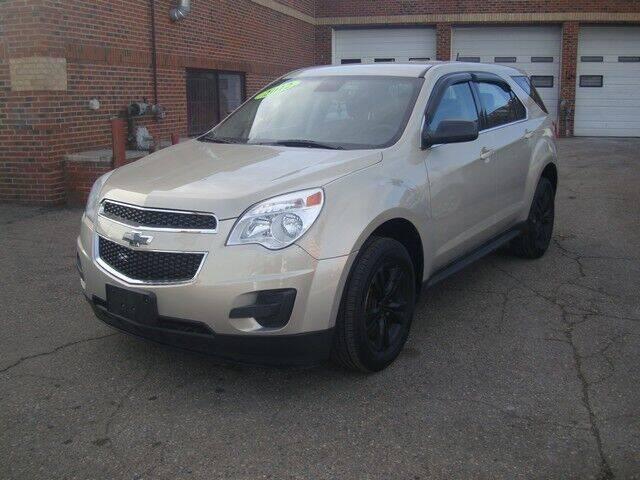 2012 Chevrolet Equinox for sale at MOTORAMA INC in Detroit MI